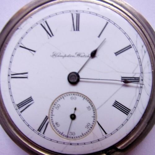 Hampden Grade No. 1 Pocket Watch Image