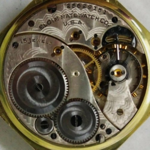 Elgin Grade 315 Pocket Watch Image