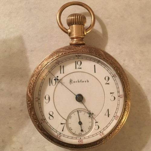 Rockford Grade 89 Pocket Watch Image