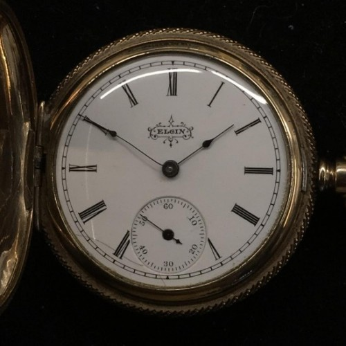 Elgin Grade 120 Pocket Watch Image