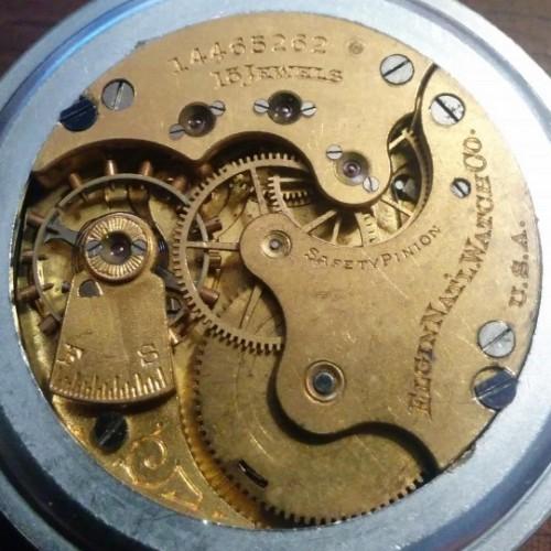 Elgin Grade 325 Pocket Watch Image