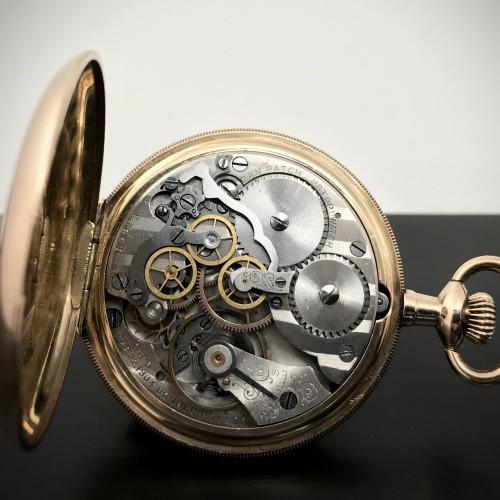 New England Watch Co. Grade Dan Patch Pocket Watch Image