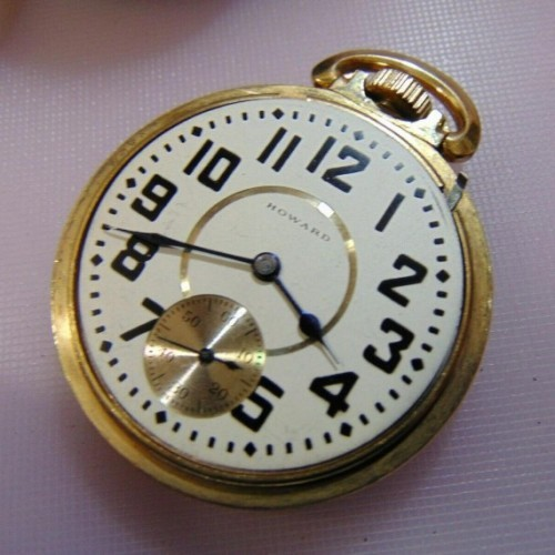 Image of E. Howard Watch Co. (Keystone) Series 5 #1110571 Dial