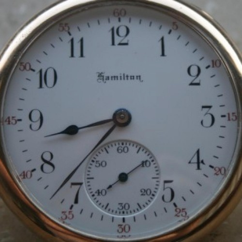 Hamilton Grade 914 Pocket Watch Image