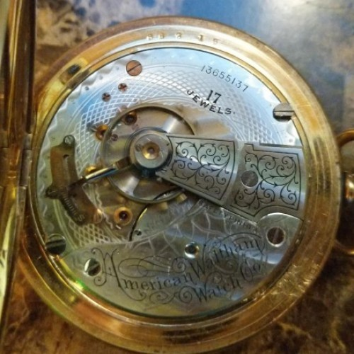 Waltham Grade No. 825 Pocket Watch