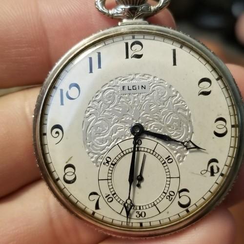 Elgin Grade 479 Pocket Watch Image