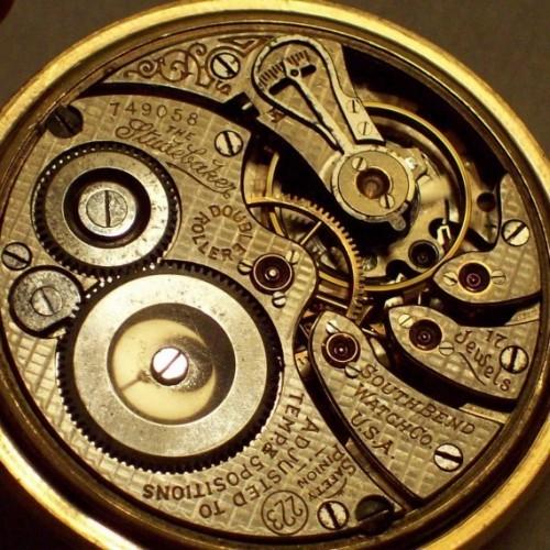 South Bend Grade 223 Pocket Watch Image