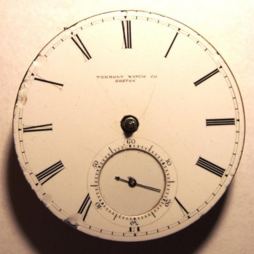 Tremont Watch Co. Grade Excelsior Pocket Watch Image