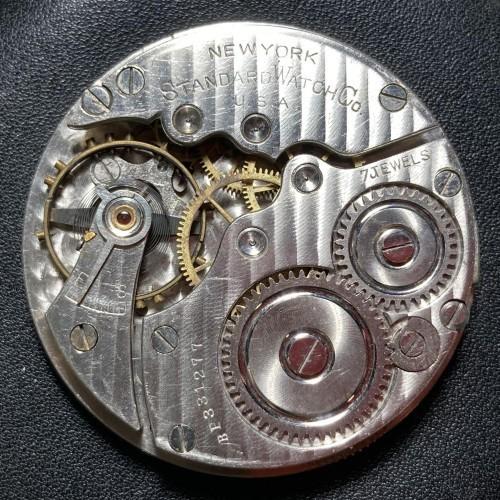 New York Standard Watch Co. Grade 171 Pocket Watch Image