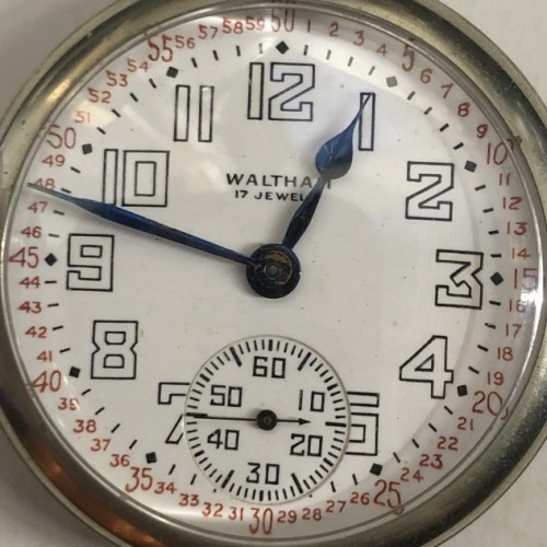 Waltham Grade No. 620 Pocket Watch Image