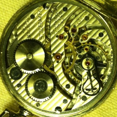 South Bend Grade Studebaker Pocket Watch Image