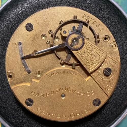 Hampden Grade No. 21 Pocket Watch Image
