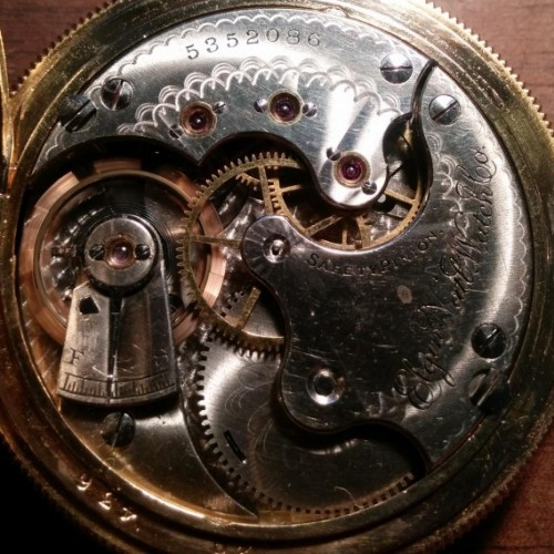 Elgin Grade 121 Pocket Watch Image