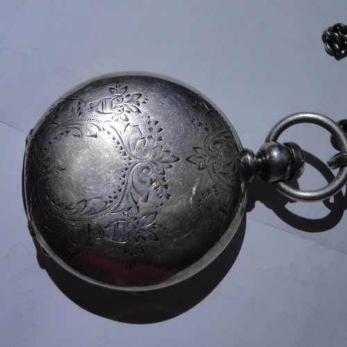 Waltham Grade Wm. Ellery Pocket Watch Image
