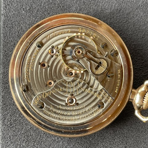 Ball Grade 999G Pocket Watch Image