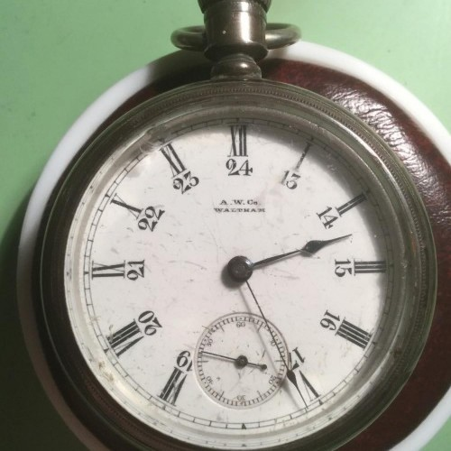 Waltham Grade No. 5 Pocket Watch Image