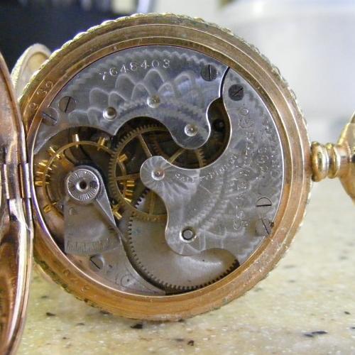 Elgin Grade 177 Pocket Watch Image