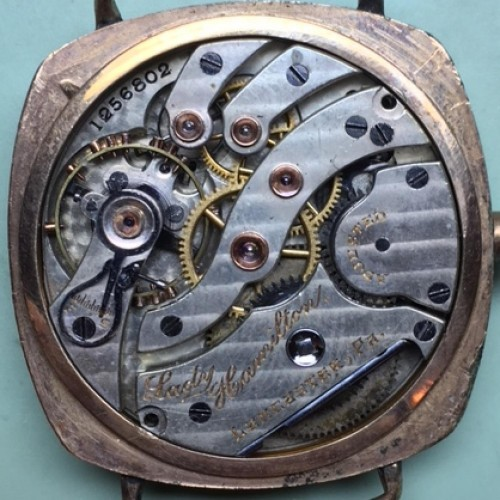 Hamilton Grade 983 Pocket Watch Image