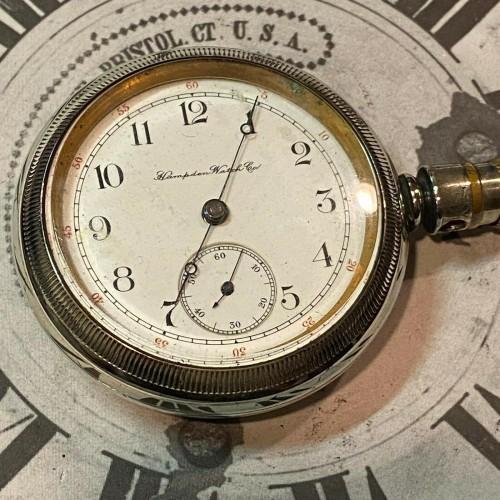 Hampden Grade No. 44 Pocket Watch Image
