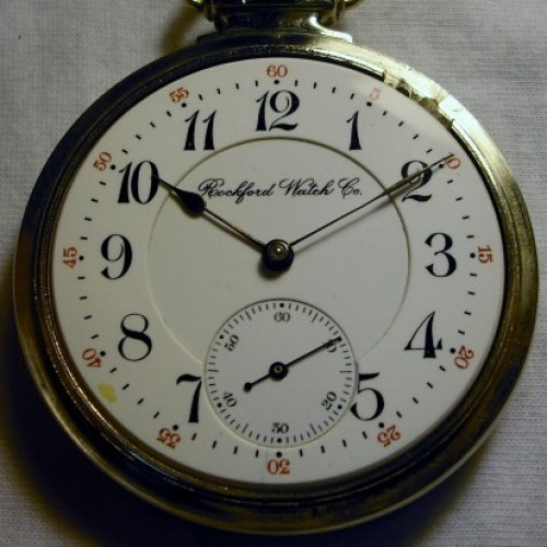 Rockford Grade 535 Pocket Watch Image