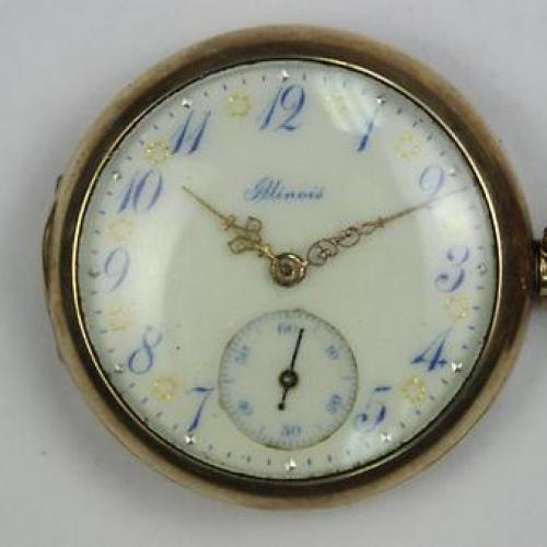 Illinois Grade 35 Pocket Watch Image