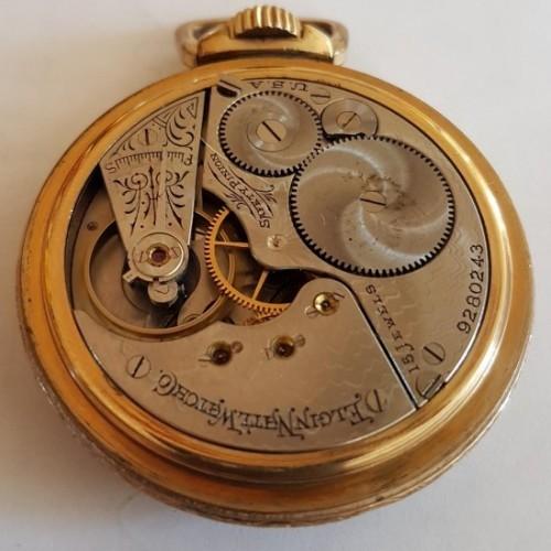 Elgin Grade 258 Pocket Watch Image