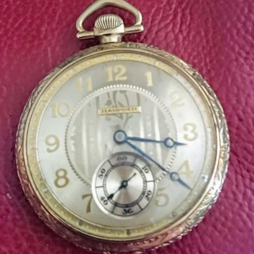 Hampden Grade Nathan Hale Pocket Watch Image