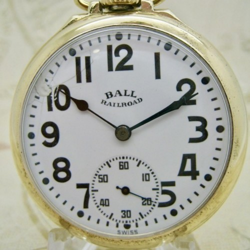 Ball - Record Grade 435 Pocket Watch Image