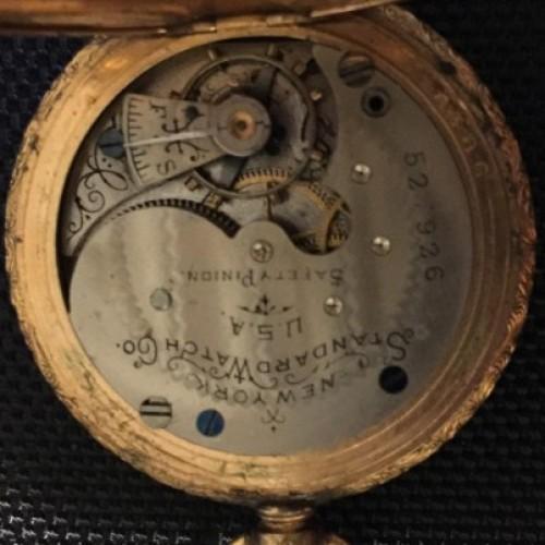 New York Standard Watch Co. Grade 44 Pocket Watch