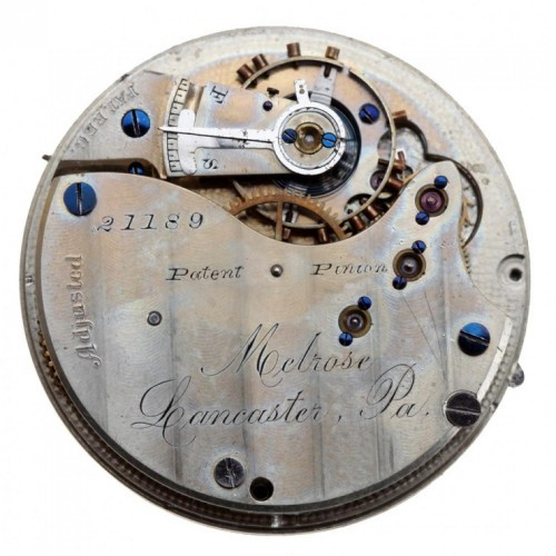 Lancaster Watch Co. Grade Melrose Pocket Watch Image