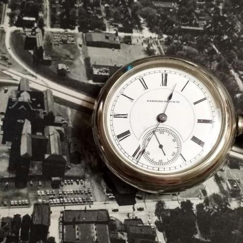 Hampden Grade Lafayette Pocket Watch Image