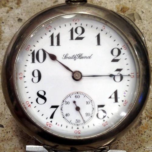 South Bend Grade 333 Pocket Watch Image