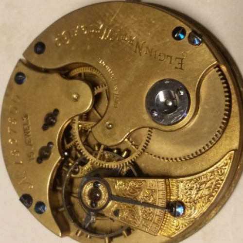 Elgin Grade 2 Pocket Watch Image