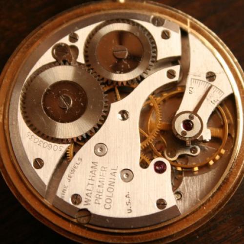 Waltham Grade No. 223 Pocket Watch Image