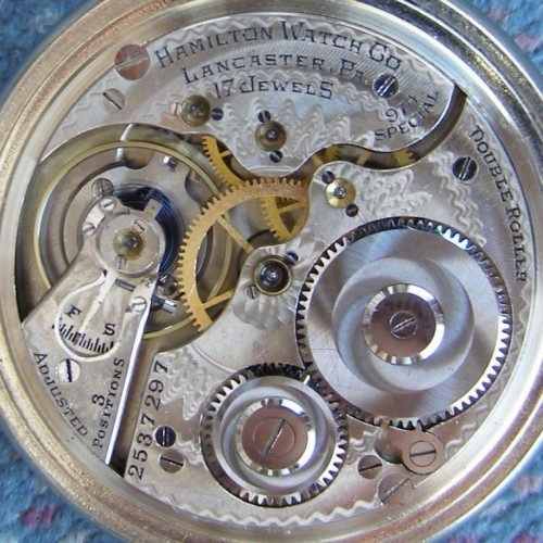 Hamilton Grade 974 Special Pocket Watch