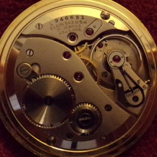 Elgin Grade 543 Pocket Watch Image