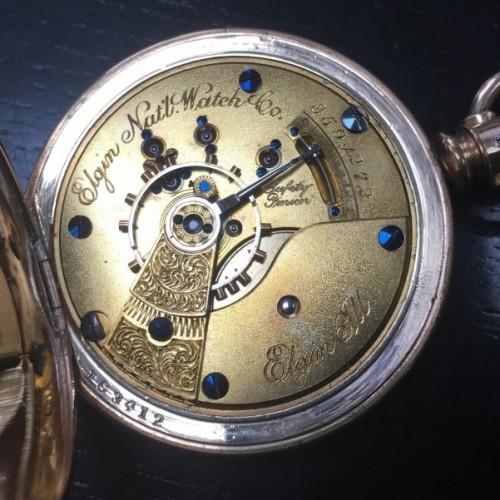 Elgin Grade 82 Pocket Watch Image