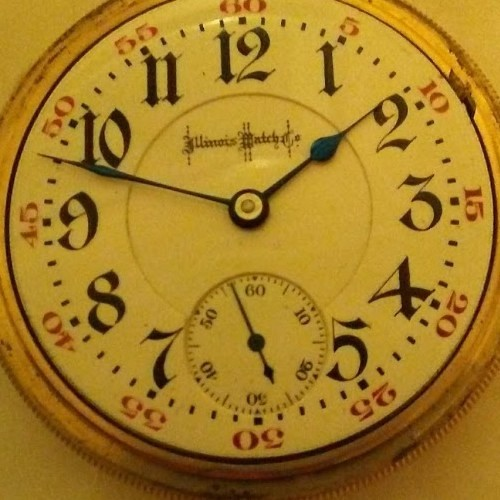 Illinois Grade Bunn Pocket Watch
