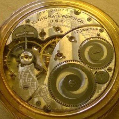 Elgin Grade 344 Pocket Watch Image