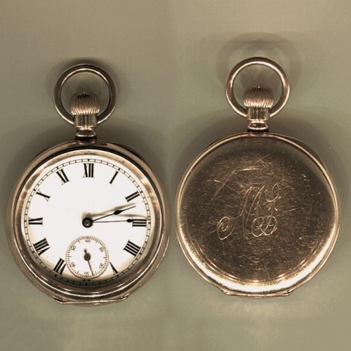 Waltham Grade Lady Waltham Pocket Watch Image