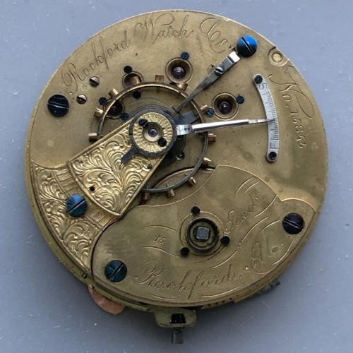 Rockford Grade 15 Jewels Adjusted Pocket Watch