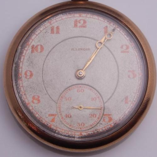 Illinois Grade 403 Pocket Watch Image