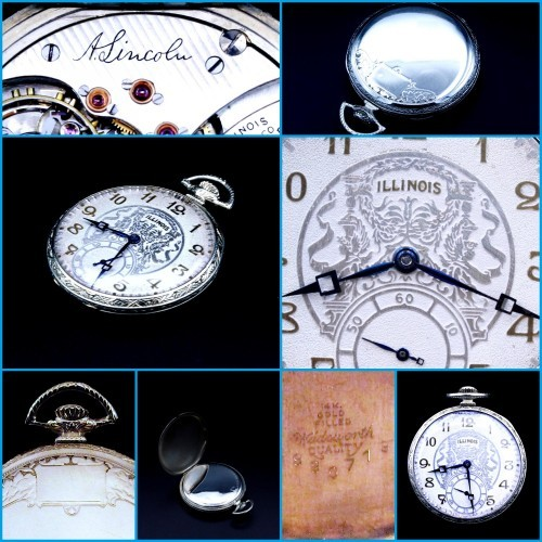 Illinois Grade 527 Pocket Watch Image
