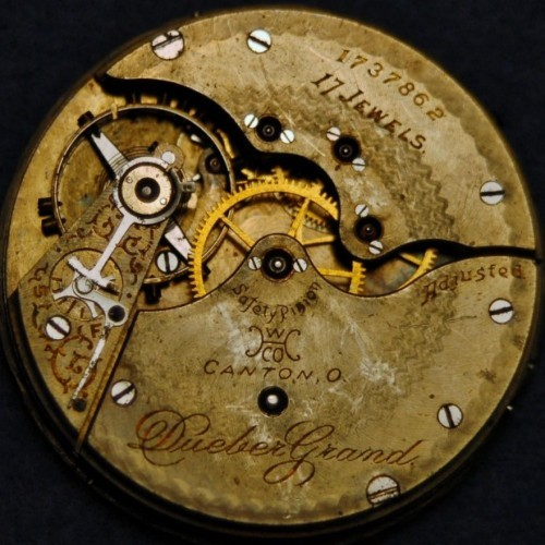 Hampden Grade Dueber Grand Pocket Watch Image