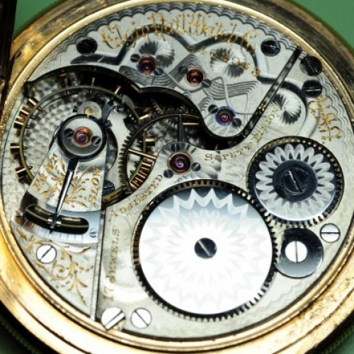 Elgin Grade 155 Pocket Watch Image