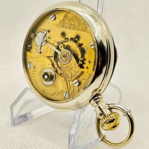 Illinois Grade 4 Pocket Watch Image