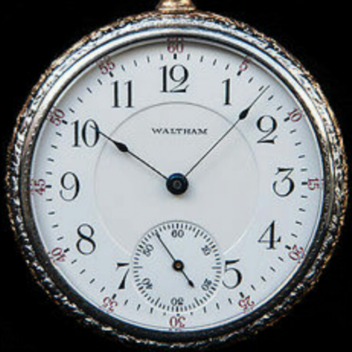 Waltham Grade No. 630 Pocket Watch Image