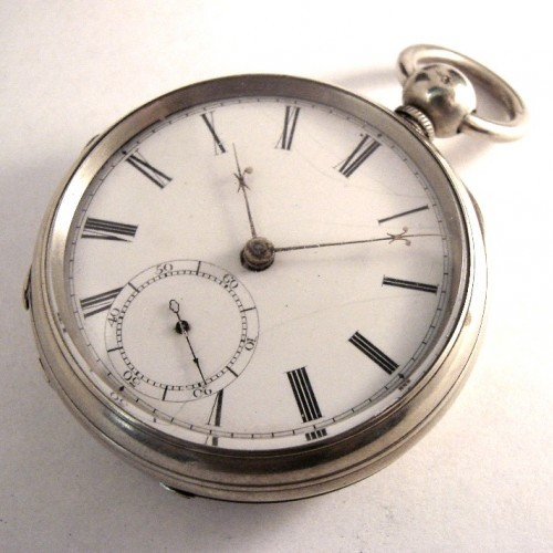 Boston Watch Co. Grade Samuel Curtis Pocket Watch Image