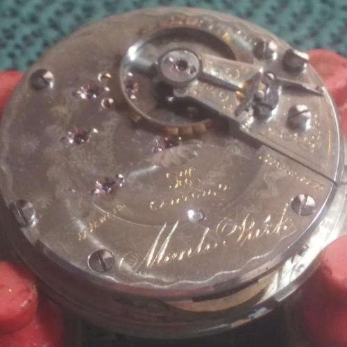 Hampden Grade Menlo Park Pocket Watch Image