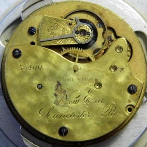 Lancaster Watch Co. Grade New Era Pocket Watch Image